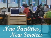 new facilities new services