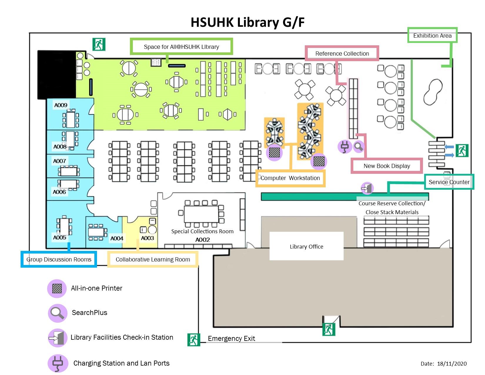 Floor Plan Library The Hang Seng University Of Hong Kong