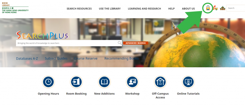 Login My Library Account | Library, The Hang Seng University of Hong